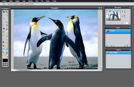 Editar fotos con pixlr